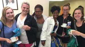 UW students meet South African healthcare providers