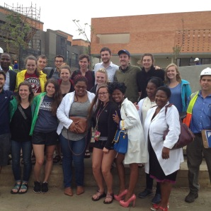 UW students tour hospital
