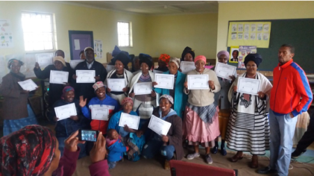 Farmer Field School study group members graduate